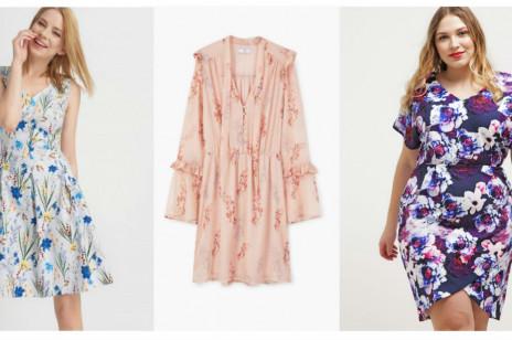Sukienki w kwiaty (od S do XXL) – przegląd z sieciówek