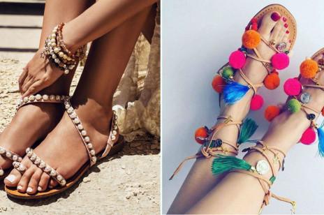 Płaskie sandały – modne propozycje od 39,90