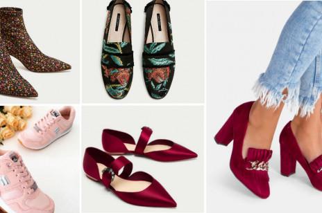 Modne buty z nowych kolekcji