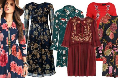Sukienki w kwiaty - must have na jesień