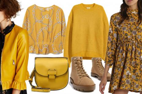 Żółty i musztardowy - najmodniejsze kolory na jesień