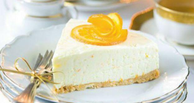 tort pomarańczowy bez pieczenia