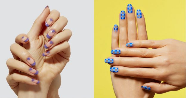 modny manicure na wiosnę