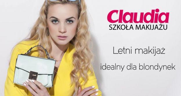 Letni makijaż dla blondynek