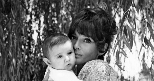 Audrey z synkiem Lucą