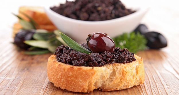 Przekąski z oliwkami