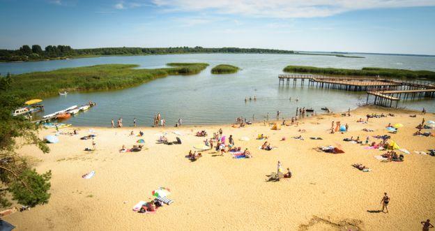 Najpiękniejsze plaże w Polsce - Rudnia, Jezioro Siemianowskie