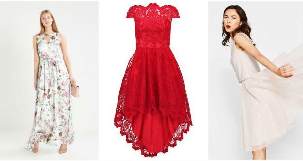 przegląd sukienek dla wysokich pań