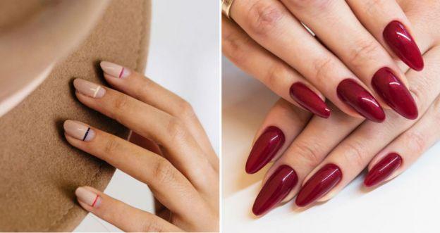 Modny manicure na jesień