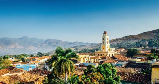 Kuba - panorama Trynidadu