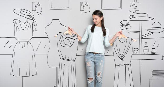 Jak się ubrać by wyglądać szczuplej