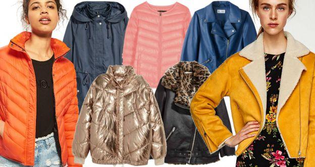 Ciepłe kurtki na jesień