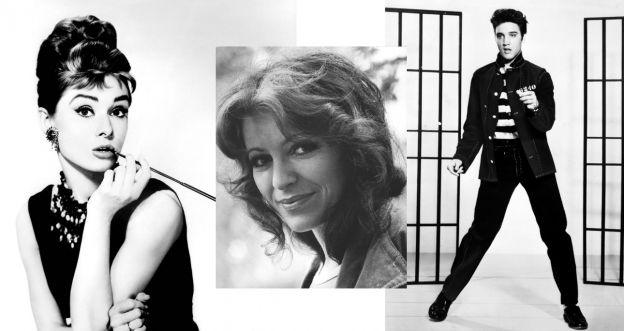 Audrey Hepburn, Anna Jantar i Elvis Presley