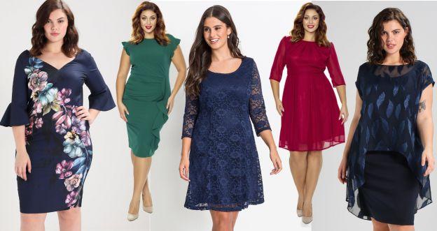 6c813ce8f7518c Najpiękniejsze sukienki na święta w rozmiarze.