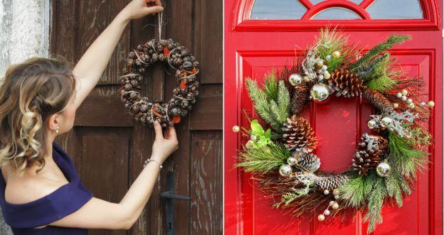 Jak powiesić świąteczny wieniec?