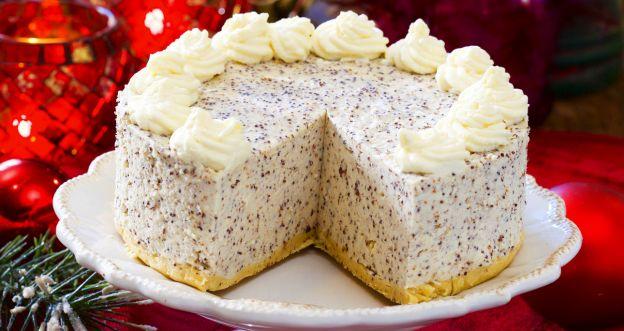 Tort makowy bez pieczenia