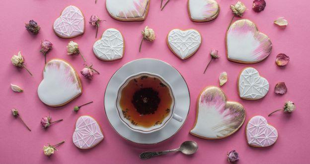 Ciasteczka maślane na Walentynki