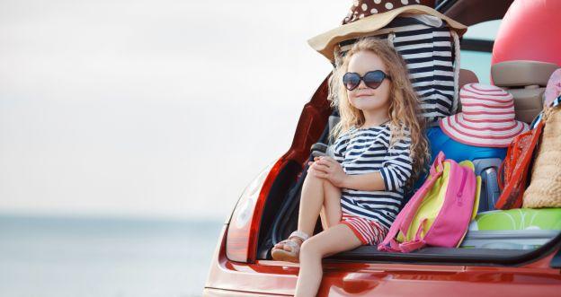 dziecko na wakacjach