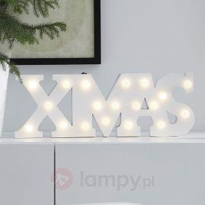 Bożonarodzeniowa lampa dekoracyjna LED WORD,  194,90 zł