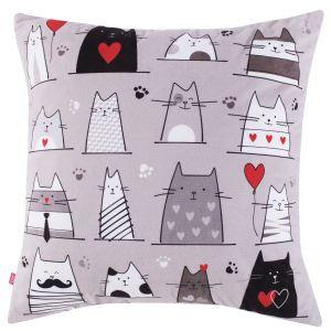 Poszewka na poduszkę w koty, Home&You, 39 PLN