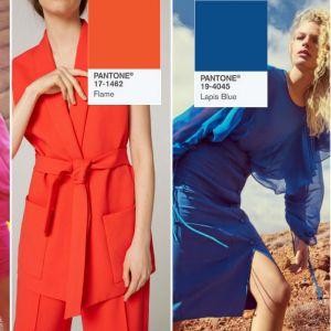 Modne kolory wiosna - lato 2017