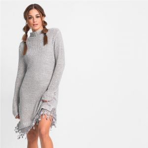 9c625f196b Dzianinowe sukienki - hit tego sezonu - Claudia