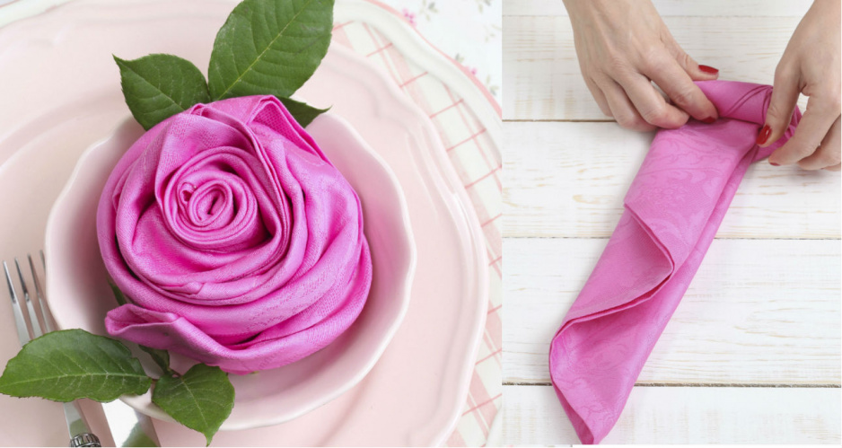 Jak Złożyć Serwetkę W Różę Claudia