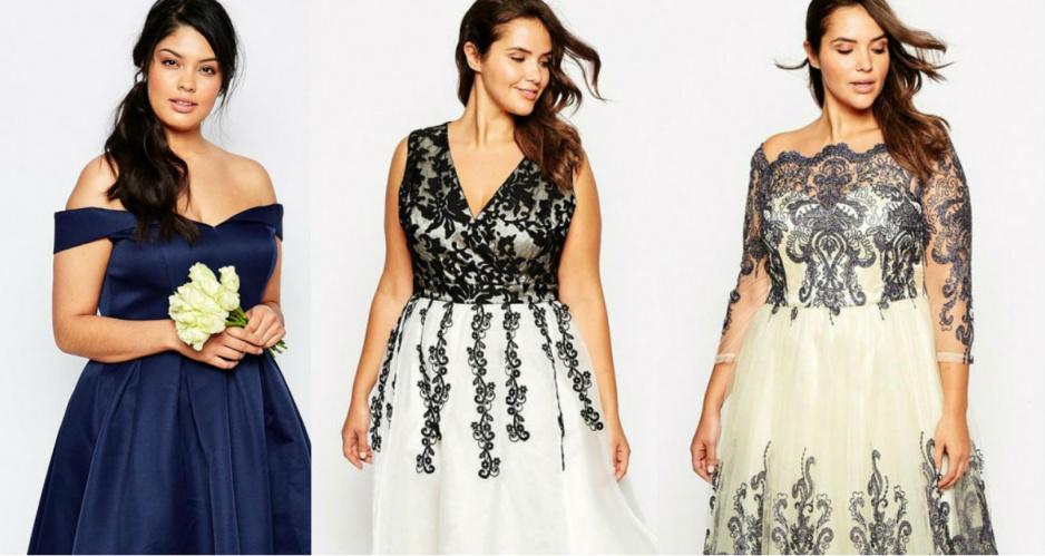 2c431f2f472eb2 Sukienki na wesele - propozycje dla puszystych - Claudia