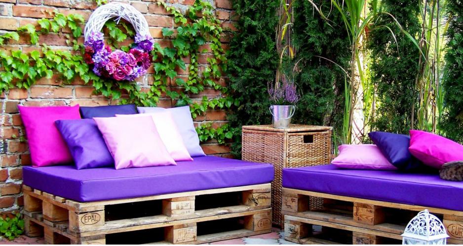 Meble Ogrodowe Z Europalet Allegro : Meble ogrodowe z palet  5 stylowych pomysłów  Claudia