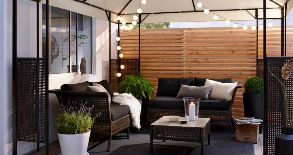 Urz dzamy balkon w nowoczesnym stylu claudia - Arredamenti per giardini e terrazzi ...
