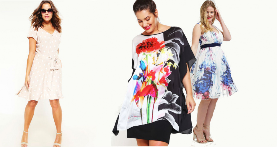 bdc00e4399 Sukienki dla puszystych  czym się kierować dobierając je do figury ...