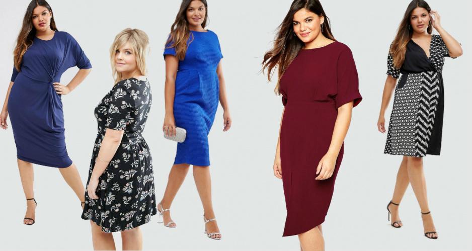 cd38ac91c4 Modne sukienki dla puszystych z jesiennych kolekcji - Claudia