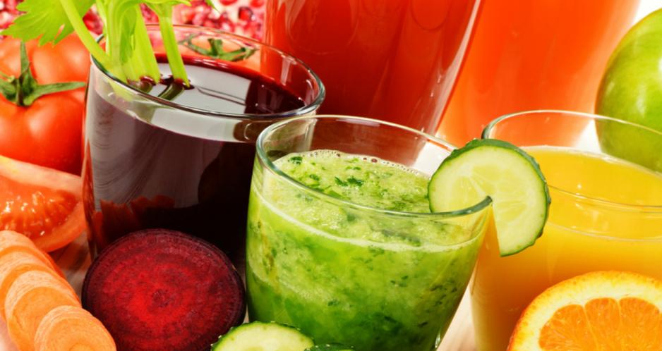 Soki warzywne i owocowe