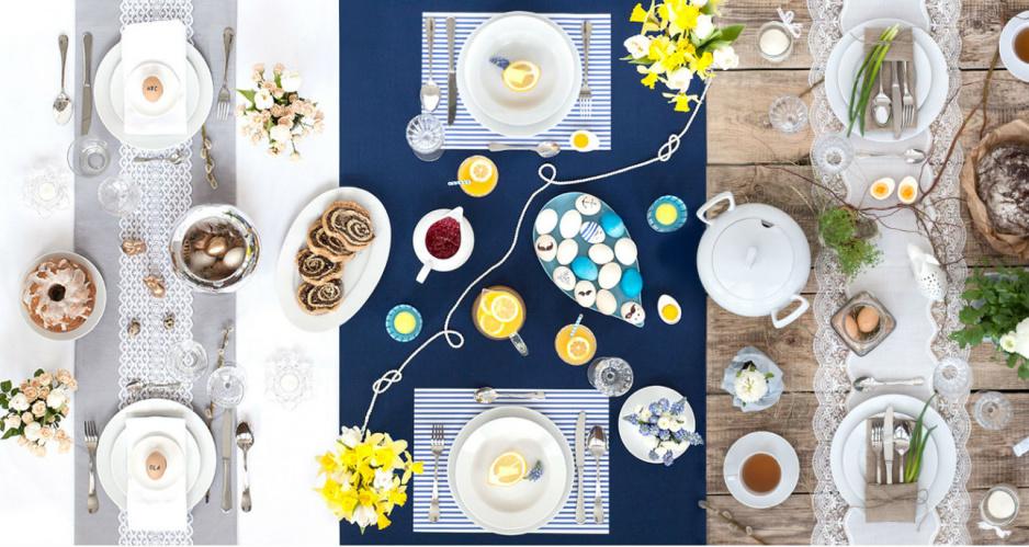 4 Stylowe Pomysły Na Wielkanocny Stół Claudiapl