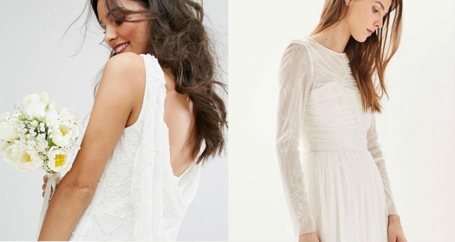 05b225b700 Suknie ślubne z sieciówki - 40 propozycji w dobrej cenie - Claudia