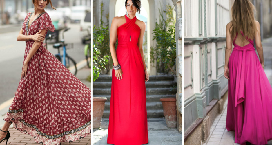 274f066b2e72 Najpiękniejsze sukienki maxi na lato - Claudia