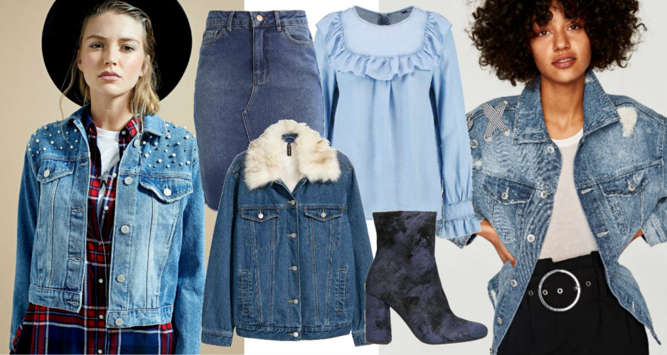 Jesienne trendy 2017 - denim