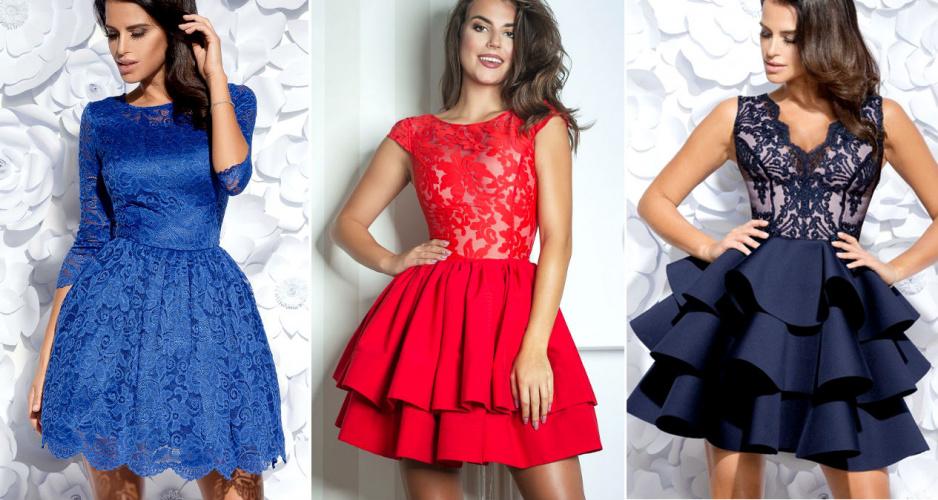 b134f114af Najpiękniejsze rozkloszowane sukienki - Claudia