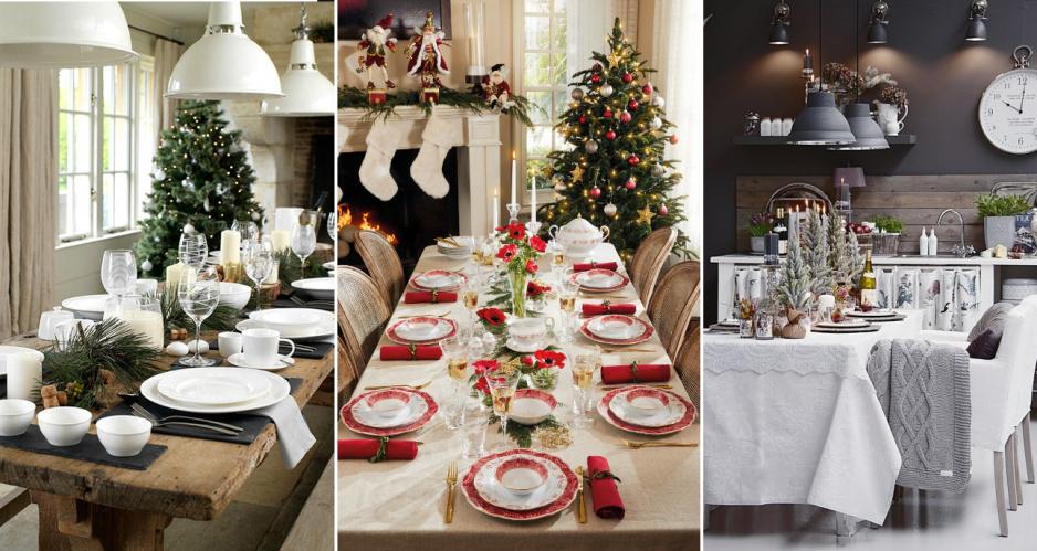 Najpiękniejsze dekoracje stołu na Święta - Claudia.pl