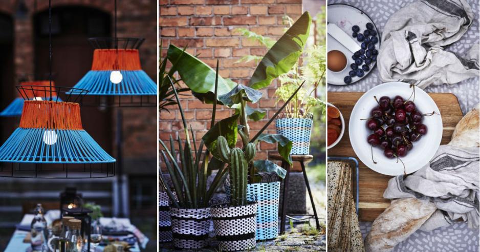 ikea sommar 2018 letnia kolekcja ju w sklepach claudia. Black Bedroom Furniture Sets. Home Design Ideas