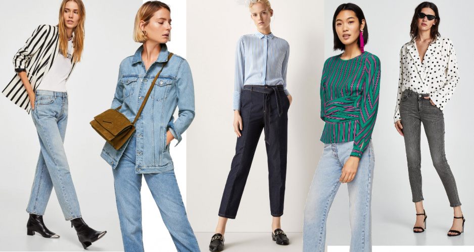 ce137901 Modne stylizacje z dżinsami - Claudia