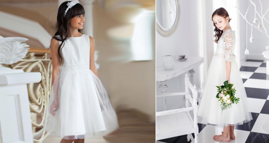 1811125946 Sukienki komunijne dla dziewczynek - Claudia
