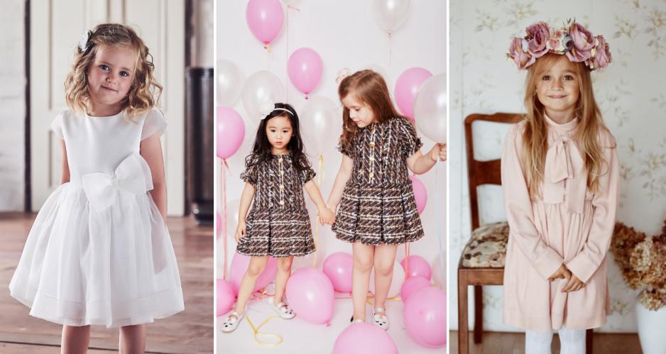 f61a542248 Super Eleganckie sukienki dla dziewczynek na Święta - Claudia WJ-15