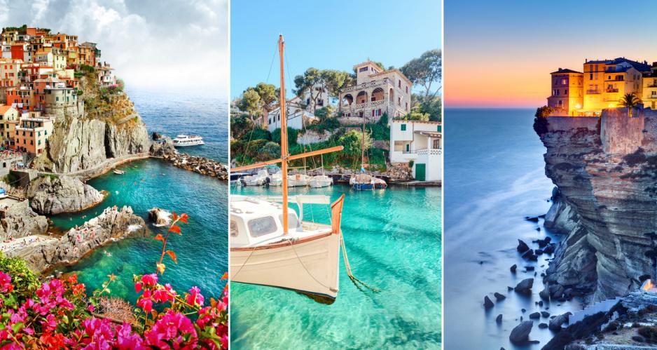 10 Rajskich Miejsc Nad Morzem śródziemnym Claudiapl