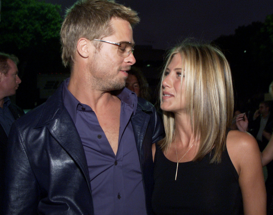 Jennifer Anniston i Brad Pitt