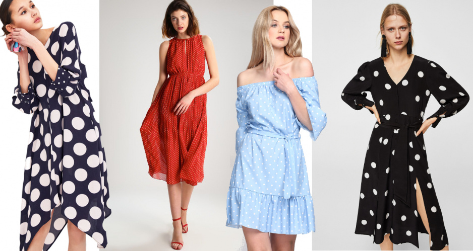 eded768142 Sukienki w groszki - hit na lato - Claudia