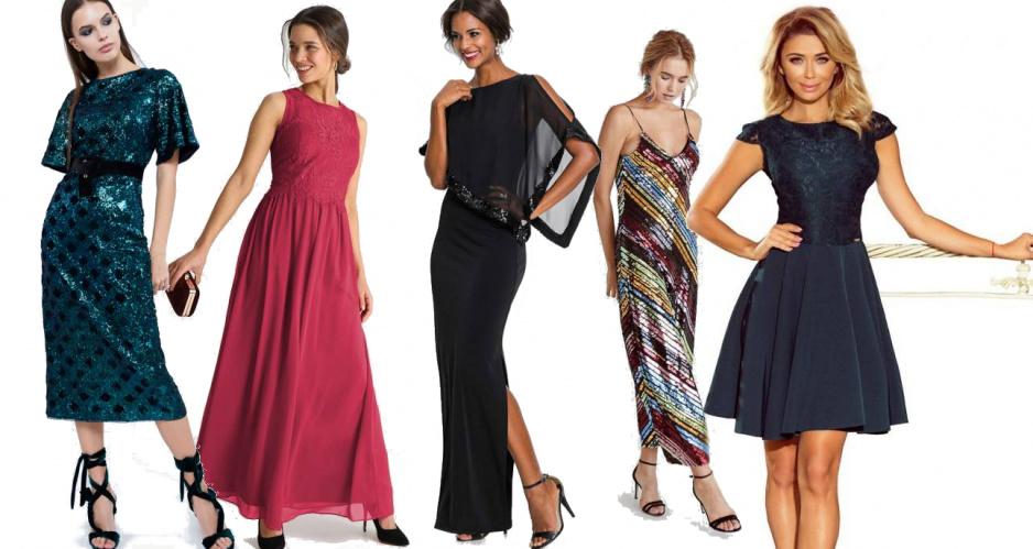 5f28b2dcf4 Sukienki sylwestrowe - dobierz fason do typu sylwetki - Claudia