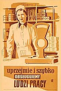 Plakat Konstantego Maria Sopoćko 1953r Kultowe Przedmioty