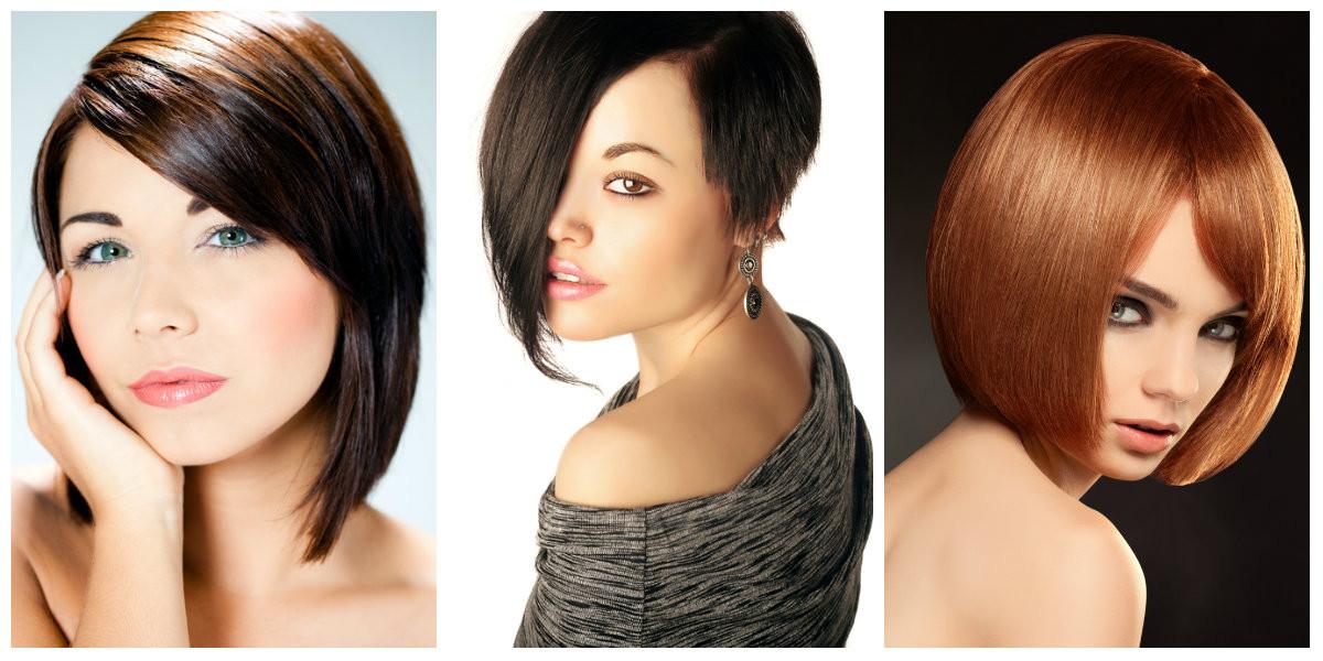 Krótkie fryzury wyszczuplające twarz - Krótkie fryzury, które wyszczuplą twarz