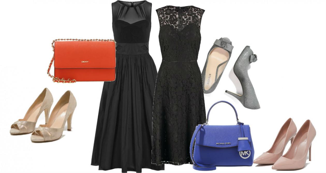 Dodatki do czarnej sukienki - Dodatki do czarnej sukienki: jakie buty i torebkę najlepiej wybrać?